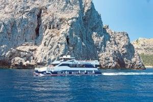 Glass Bottom Boat Trip to Formentor Beach