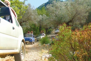 Jeep Excursion of Sierra de Tramuntana with Pickup