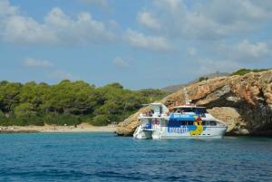 Mallorca: 4-Hour Eastern Coast Catamaran Cruise