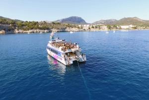 Mallorca: Dolphin Watching Glass Bottom Boat Tour