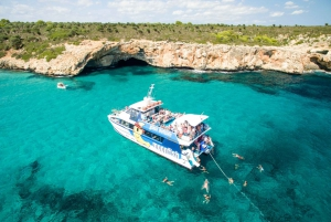Mallorca: Glass-Bottom Catamaran Trip along the East Coast