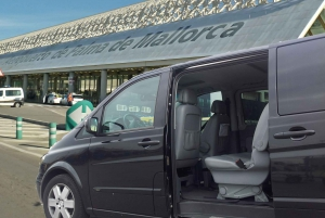 Mallorca Hotels to Palma Airport Private Transfer