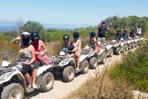 Mallorca: Off-Road Quad Biking, Snorkeling & Cliff Jumping