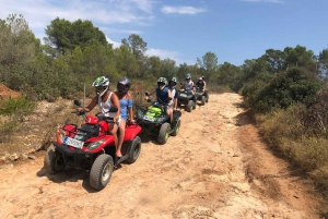 Mallorca: Quad Adventure Tour with Cliff Jumping