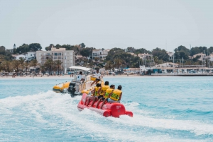 Palma Bay: Banana Boat or Aqua Rocket Water Activities