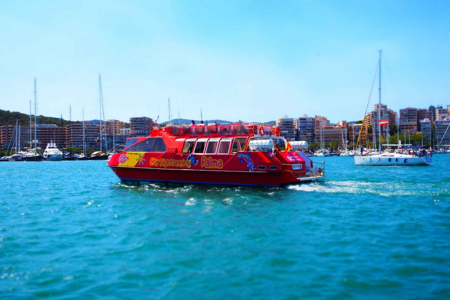 Palma de 24-Hour Hop-On Hop-Off Sightseeing Boat