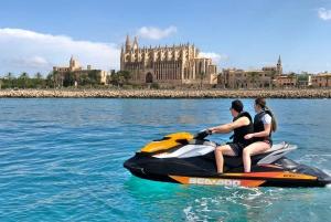 Palma de Jetski Tour to Palma Cathedral
