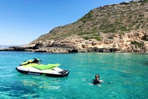 Palma de Mallorca: Los Deltas Jet Ski Tour