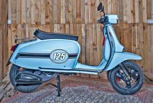 Palma de Mallorca: Vintage Scooter Rental