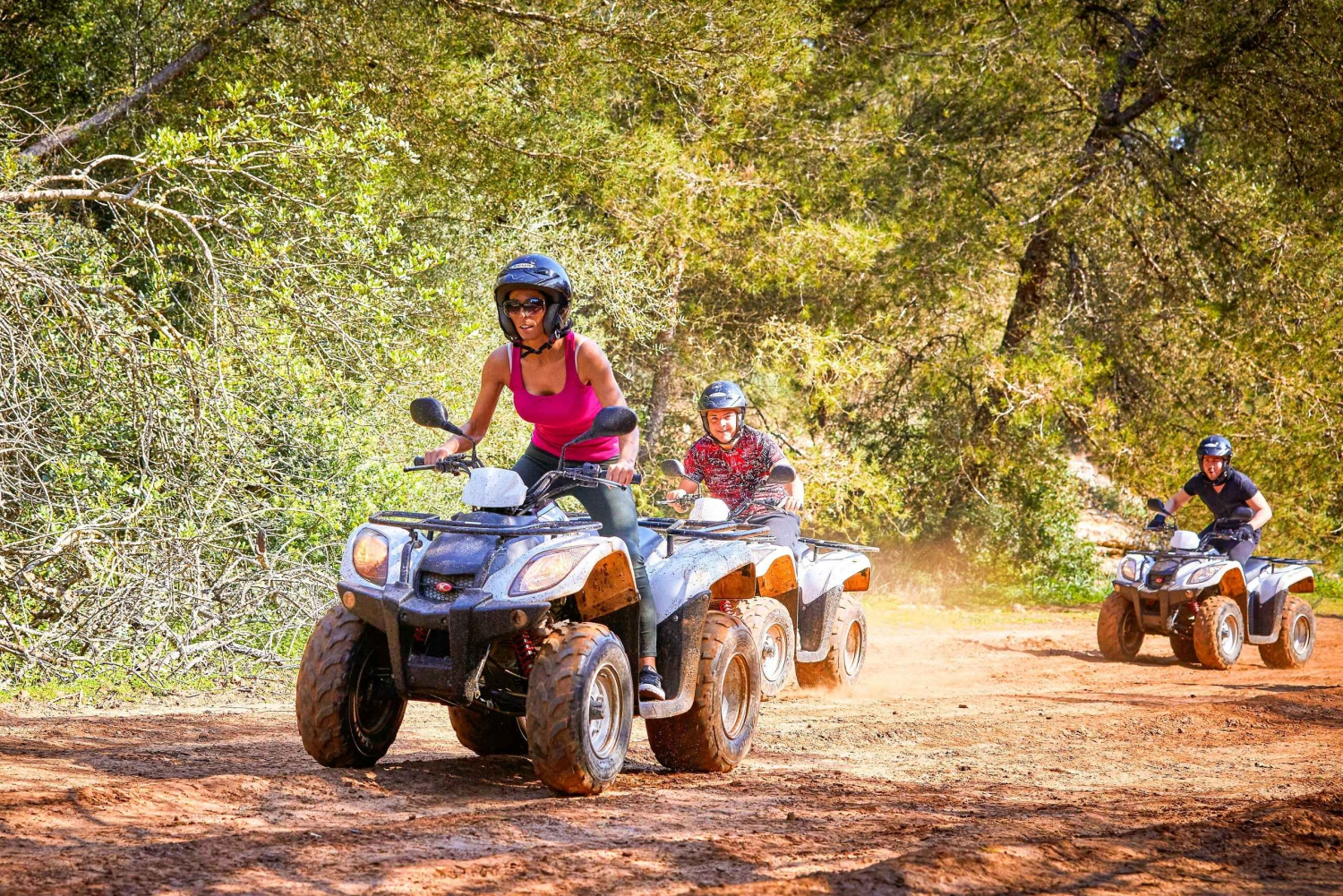 Quad Bike Off-Road Tour with Snorkeling