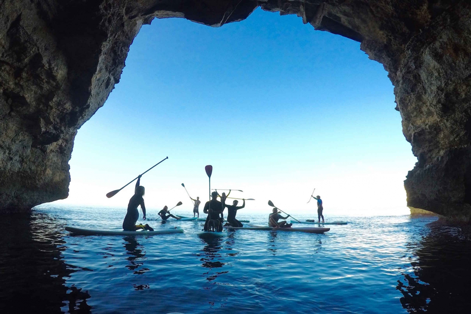 Sea Caves by Stand-Up Paddleboard or Kayak