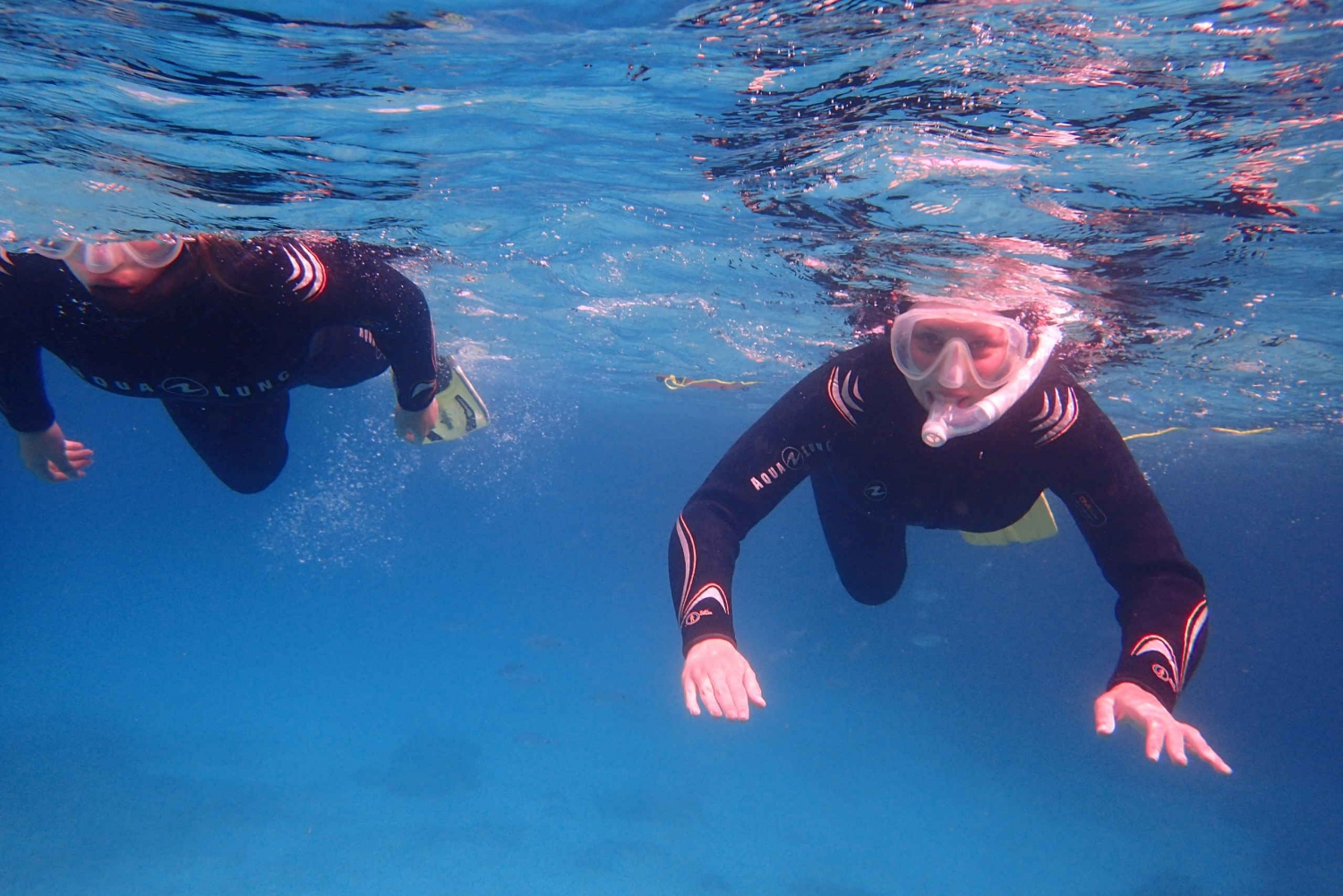 Snorkeling in a Beautiful Nature Reserve