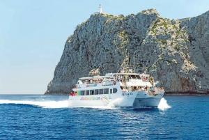 Submarine Vision Boat Trip to Cap de Formentor