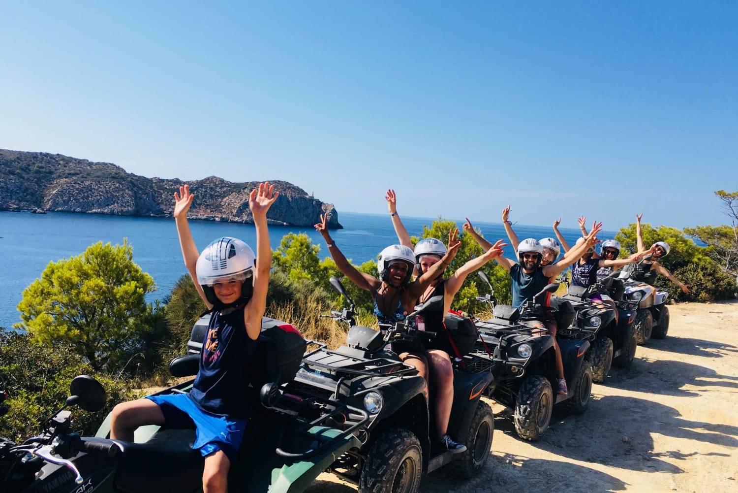 West Mallorca Guided Quad Bike Excursion