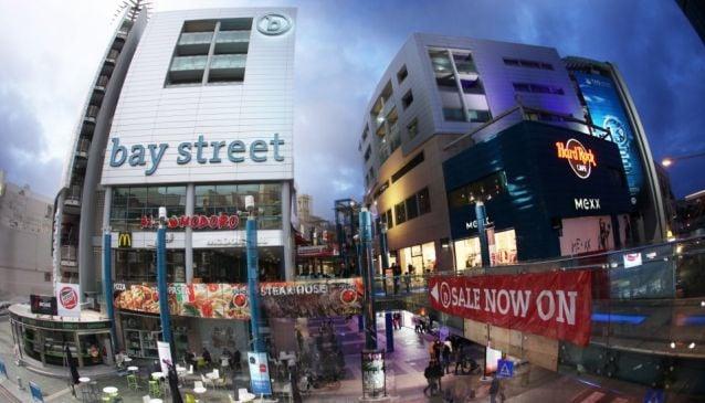 Bay Street Shopping Complex