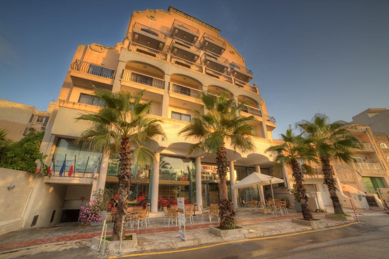 bella vista hotel in malta my guide malta. Black Bedroom Furniture Sets. Home Design Ideas