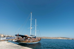 Comino, Blue Lagoon, and Caves Day Trip