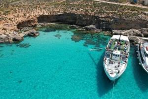 Comino, Blue Lagoon & Caves Boat Cruise