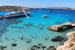 Comino, Blue Lagoon & Gozo - 2 Island Boat Cruise