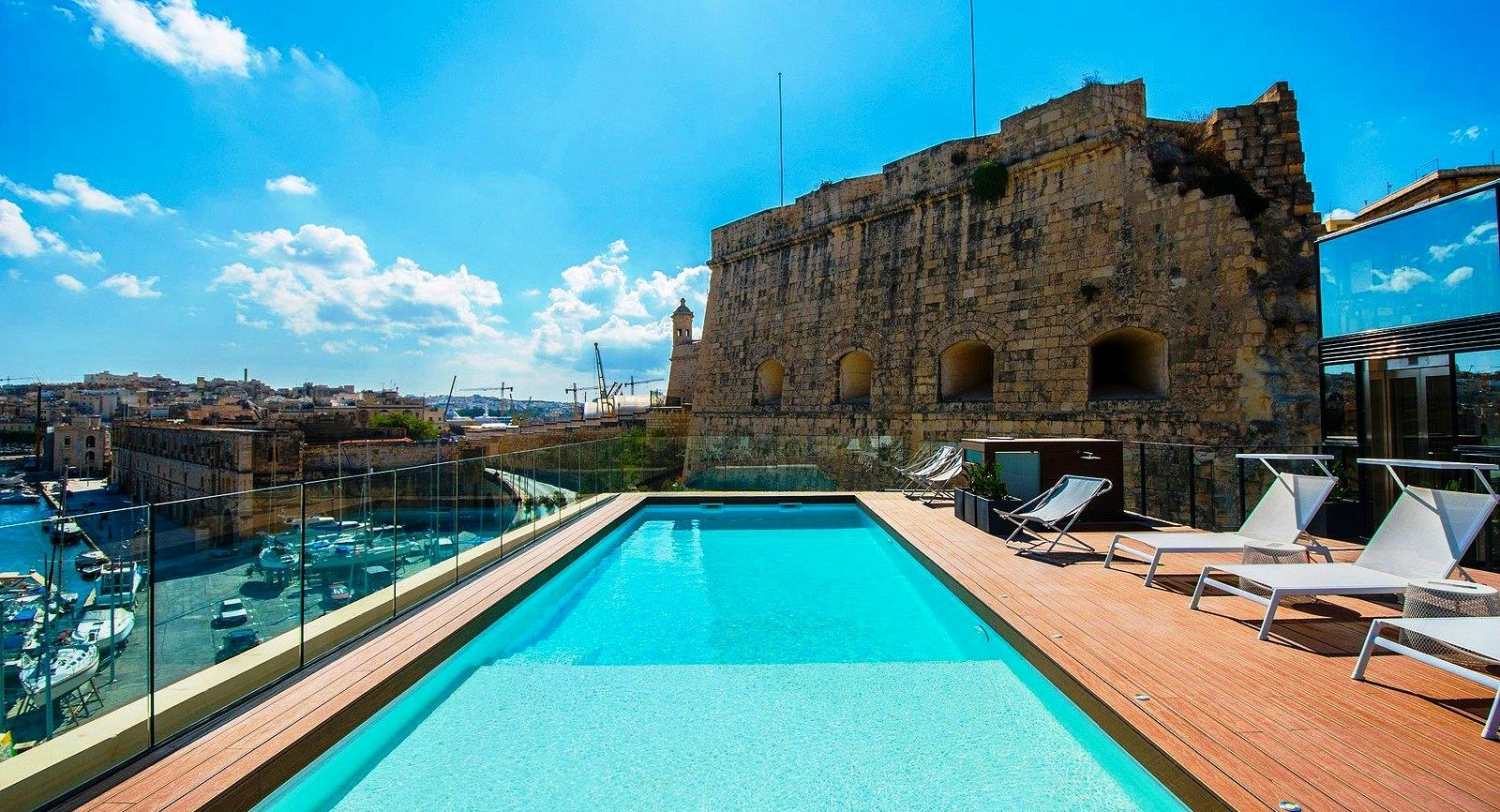 Best 5 Boutique Hotels in Malta