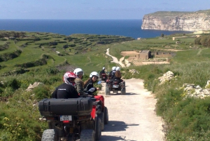From Full-Day Quad Bike Tour of Gozo with Lunch