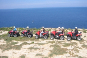 From Malta: Full-Day Quad Bike Tour of Gozo with Lunch