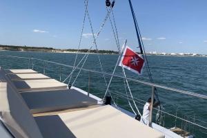 From Saint Paul's Bay: Beaches and Bays by Catamaran