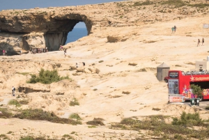 Gozo 1-Day Hop-On Hop-Off City Sightseeing Bus Tour