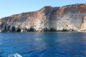 Gozo: Private 3-Hour Sunset Boat Cruise