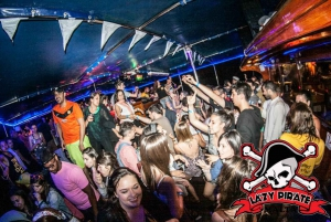 Malta: 5-Hour Lazy Pirate Boat Party with Drinks & Food
