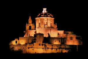 Malta By Night Open-Top Bus Tour Including 1-Hour Mdina Stop