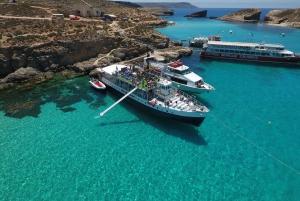 Malta: Comino, Blue Lagoon & Caves Boat Cruise