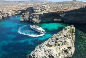 Malta: Comino, Blue Lagoon & Gozo - 2 Island Boat Cruise