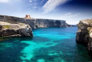 Malta: Full-Day Gozo and Blue Lagoon Cruise with Open Bar