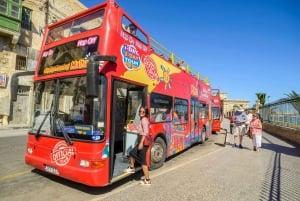 Malta: Malta Island Bus Tour and Optional Boat Tour