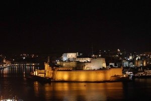 Malta: Marsamxett Harbour and Grand Harbour Cruise by Night