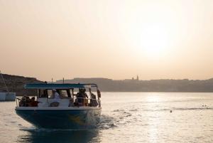 Malta: Private Customizable Boat Charter along the Coastline