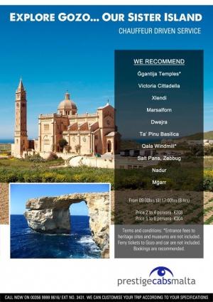 Prestige Gozo Trips