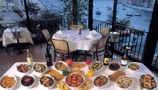 Top 5 Restaurants with Views in Malta