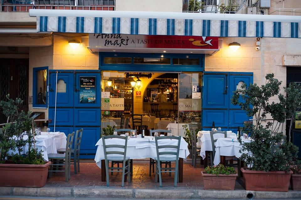 Best 5 Fish & Seafood Restaurants in Malta