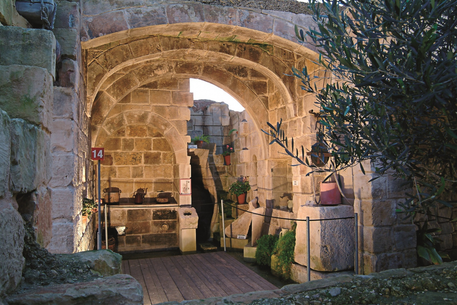 The limestone heritage park and gardens in malta my - The garden place at heritage park ...