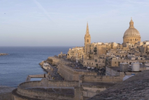 Valletta: Private Walking Tour From Grand Harbour