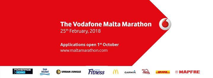 2018 Vodafone Malta Marathon