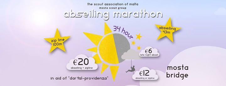 Abseiling Marathon & Zipline in aid of Dar Tal-Providenza