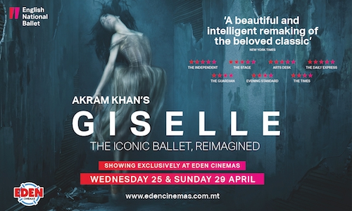 Akram Khan's Giselle comes to Eden Cinemas