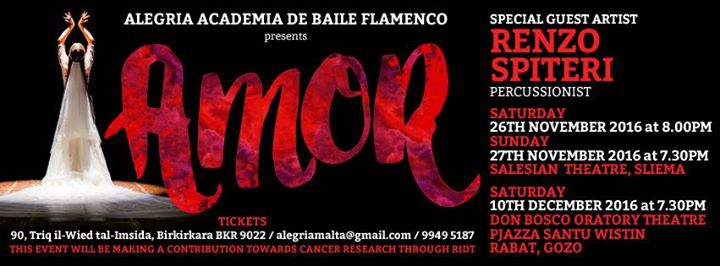 AMOR - A Flamenco Performance