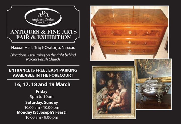 Antique and Fine Art Fair - March 2018