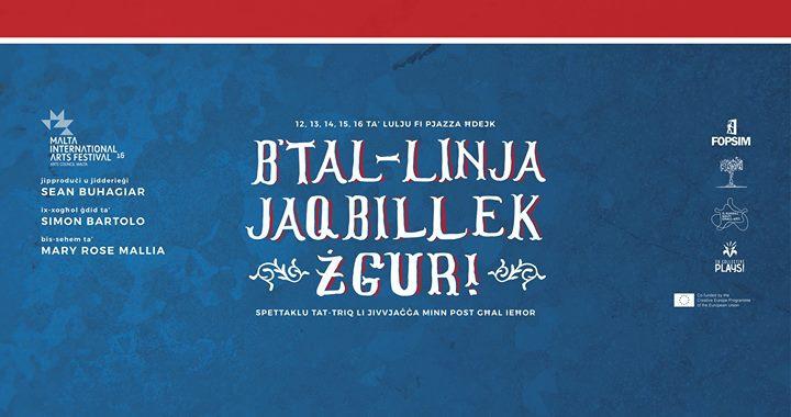 B'Tal-linja Jaqbillek Żgur!