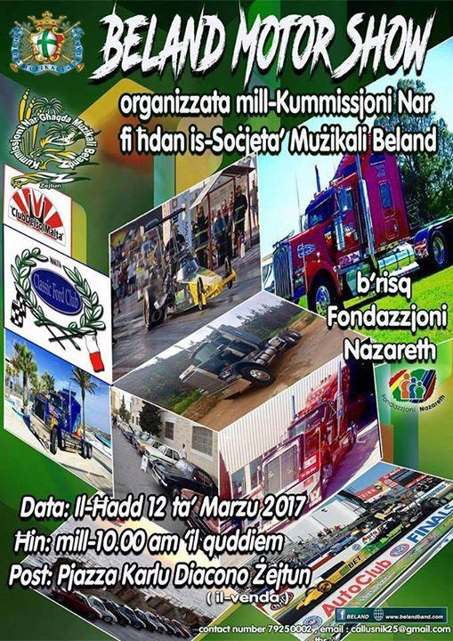 Beland Motor Show