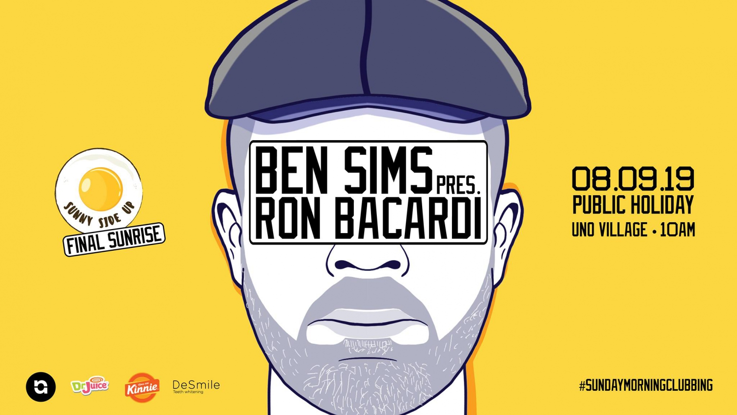 Ben Sims pres. Ron Bacardi // Sunny Side Up Summer Closing 2019